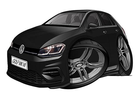 Volkswagen Golf 7 Noire