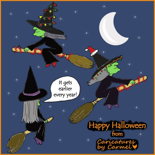 Happy Halloween Cartoon
