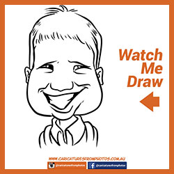 Free Digital Caricature Sketch Perth 03