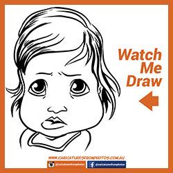 Free Digital Caricature Sketch Perth 06