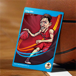 Perth Wildcats Caricatures – Greg Hire