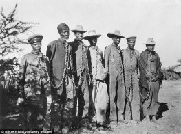 Germany has been taken to a US court over a request for reparations from Namibian people for the early 20th century genocide of the Herero and Nara people (file photo)