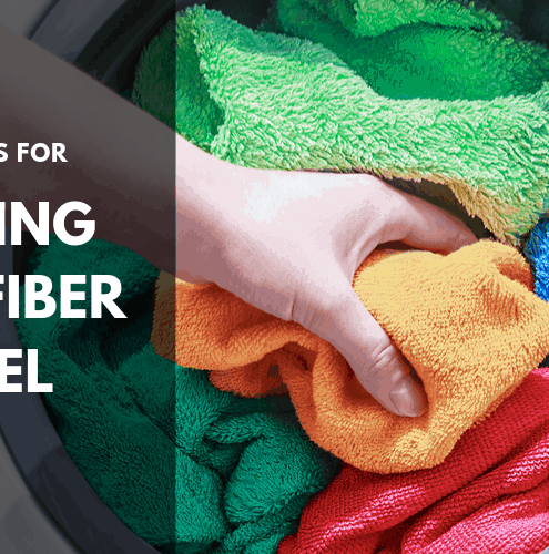 wash microfiber towel