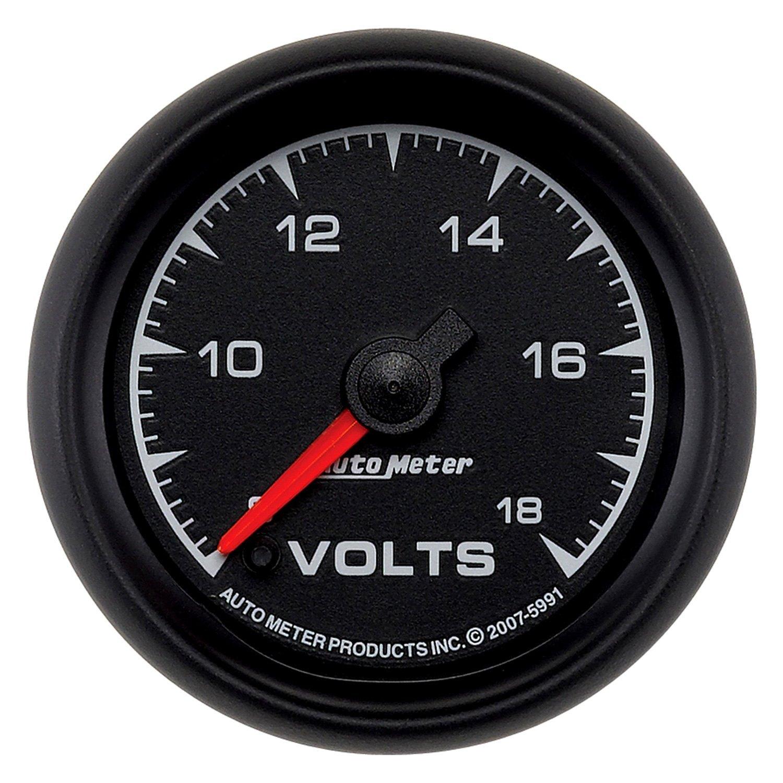 Auto Meter® 5991  Es™ Voltmeter Indash Gauge
