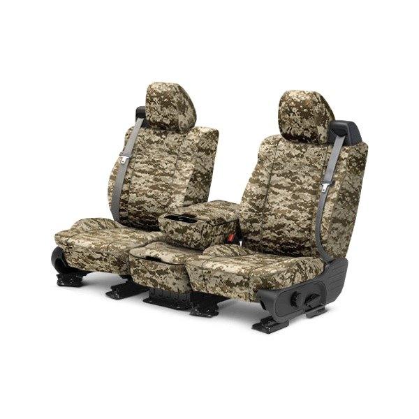 Caltrend®  Toyota Tundra 20142017 Camouflage Custom Seat