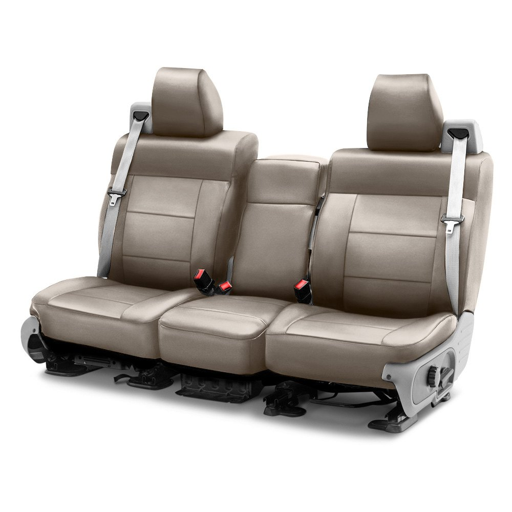 Coverking® Cscq6tt9720  Leatherette 1st Row Taupe Custom
