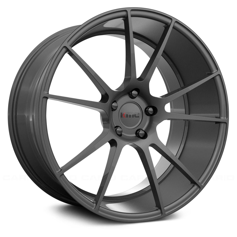 Kmc® Km709 Wheels  Charcoal Rims