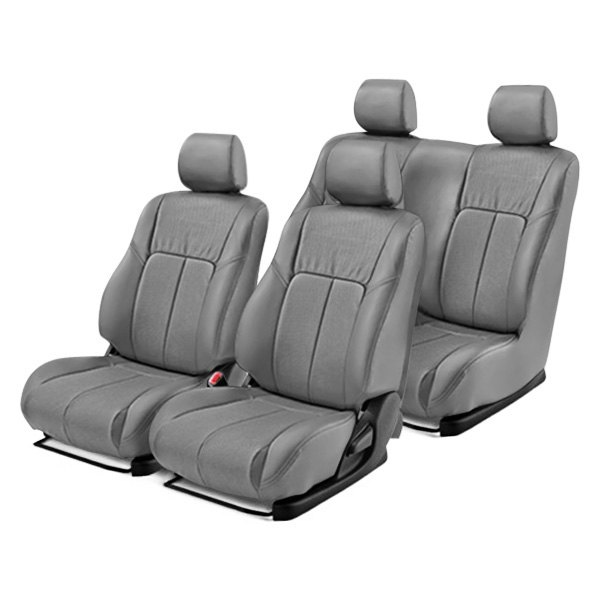 Leathercraft®  Chevy Silverado 2017 Leather Seat Covers