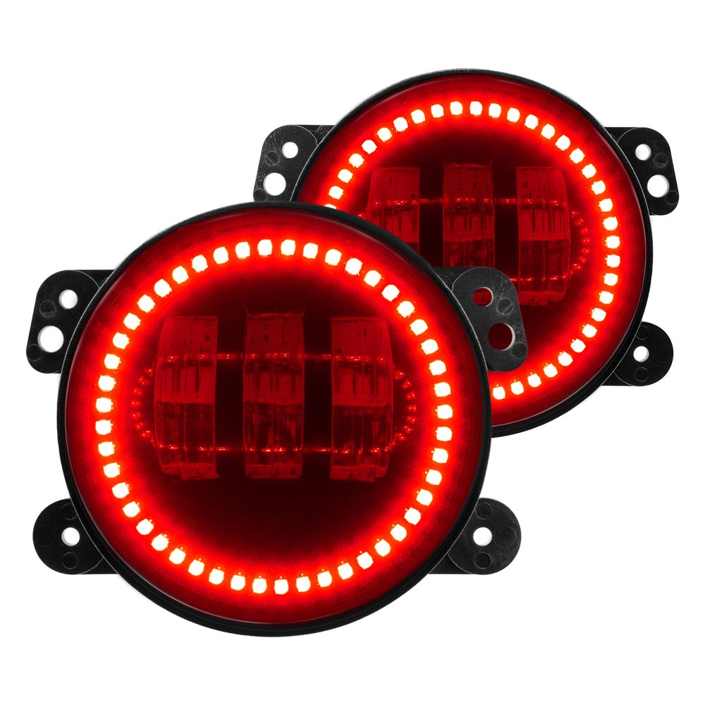 hight resolution of lighting jeep wrangler 2013 offroad high powered led fog lights