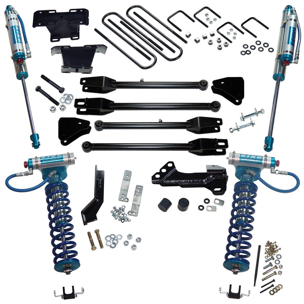 """Superlift® K166kg  4"""" 4link Front And Rear Suspension"""