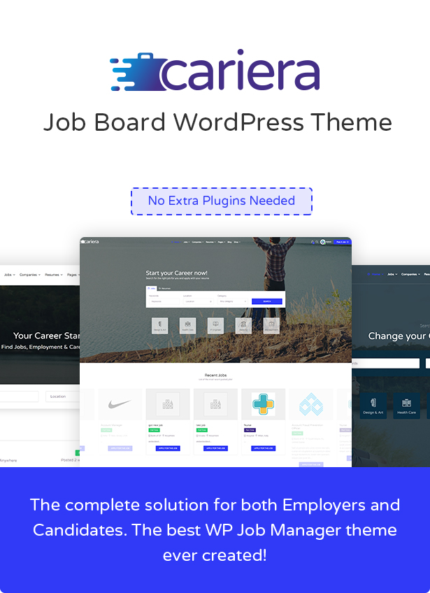 Cariera - Thème WordPress Job Board - 3