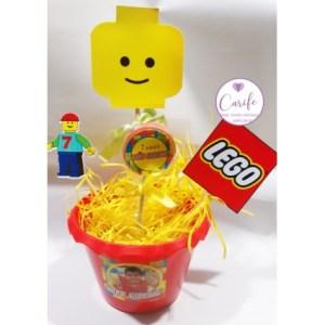 Centro de mesa Lego Heroes