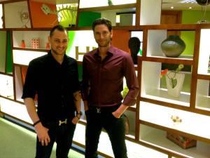Jay Kubassek and Stuart Ross
