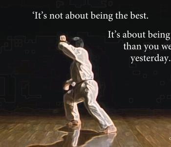 Motivation, inspiration, entrepreneur, karate motto