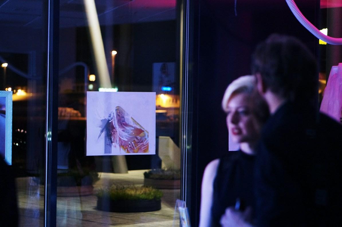 Choke, kunstutstilling - Carina Behrens, carinabehrens.com