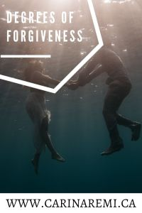 DEGREES OF FORGIVENESS