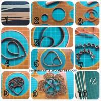 Warping wire - swirling strips - a tutorial