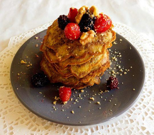 Super zalige oersterke pompoen pannenkoekjes