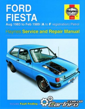 Ford Fiesta Petrol (Aug 83  Feb 89) Haynes Service and