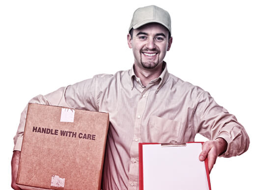 Courier brings delivery in Caringbah