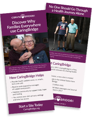How To Find A Person On Caringbridge : person, caringbridge, CaringBridge, Materials, Brand, Brochures
