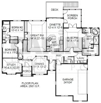 Master retreat home plan! Order@carinidesigns.com.