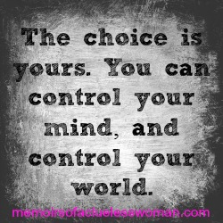 control your mind control your world