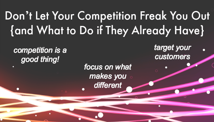 Competition Freak Out