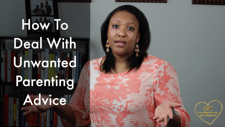 How to Deal With Unwanted Parenting Advice via @carinkilbyclark