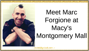 Meet Marc Forgione at Macy's Montgomery Mall