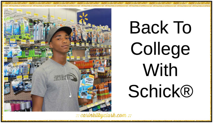 Back to College With Schick via @carinkilbyclark
