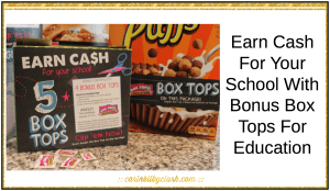 Earn Cash For Your School With Bonus Box Tops For Education via @carinkilbyclark