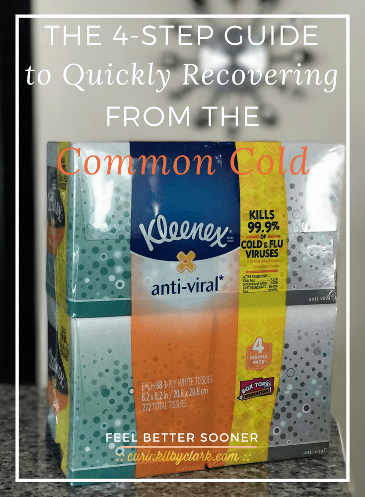 how to get rid of common cold quickly