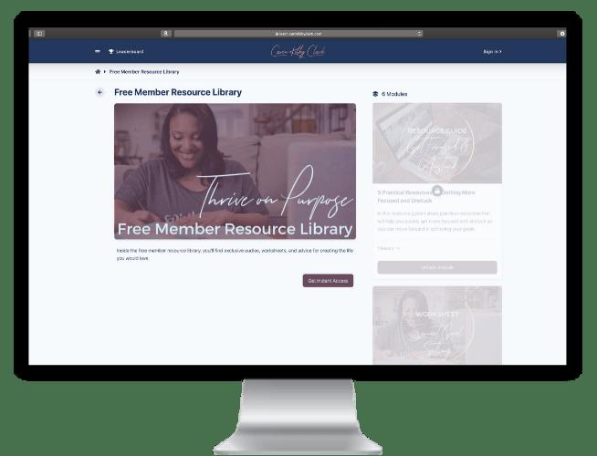 Carin Kilby Clark - Free Member Resource Library