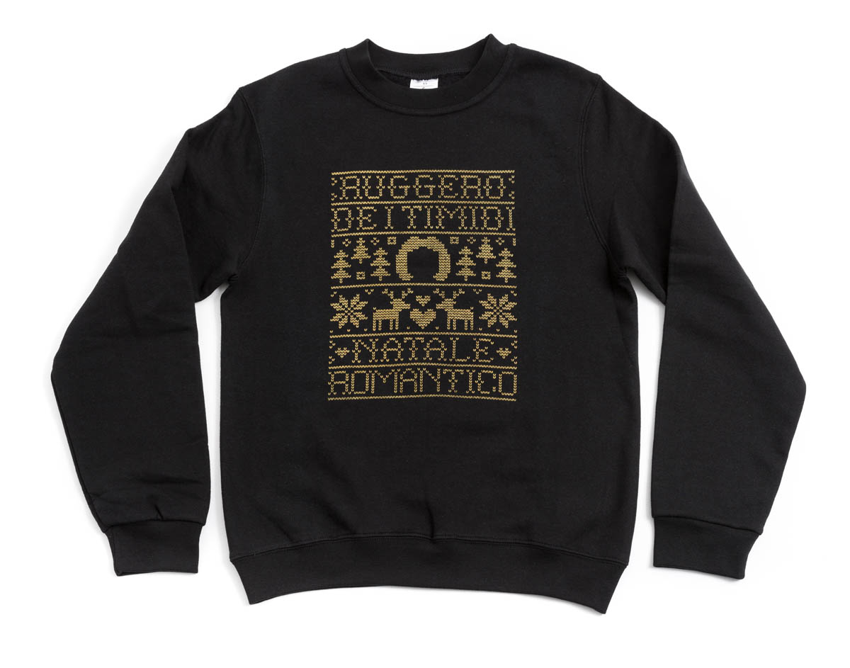 Ruggero de I Timidi, Natale Romantico, identità visiva e design di Carin Marzaro