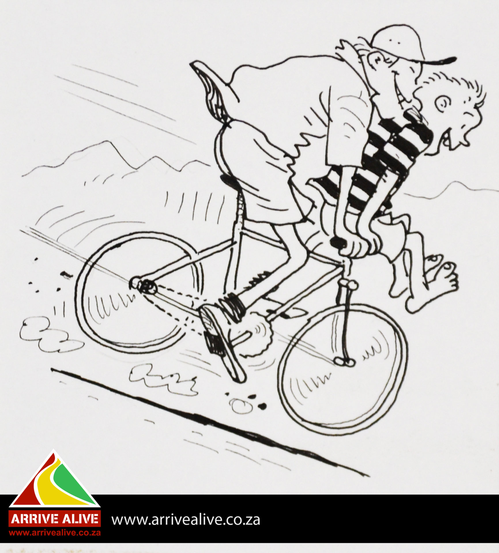 Is it legal for a cyclist to be carrying a passenger on a