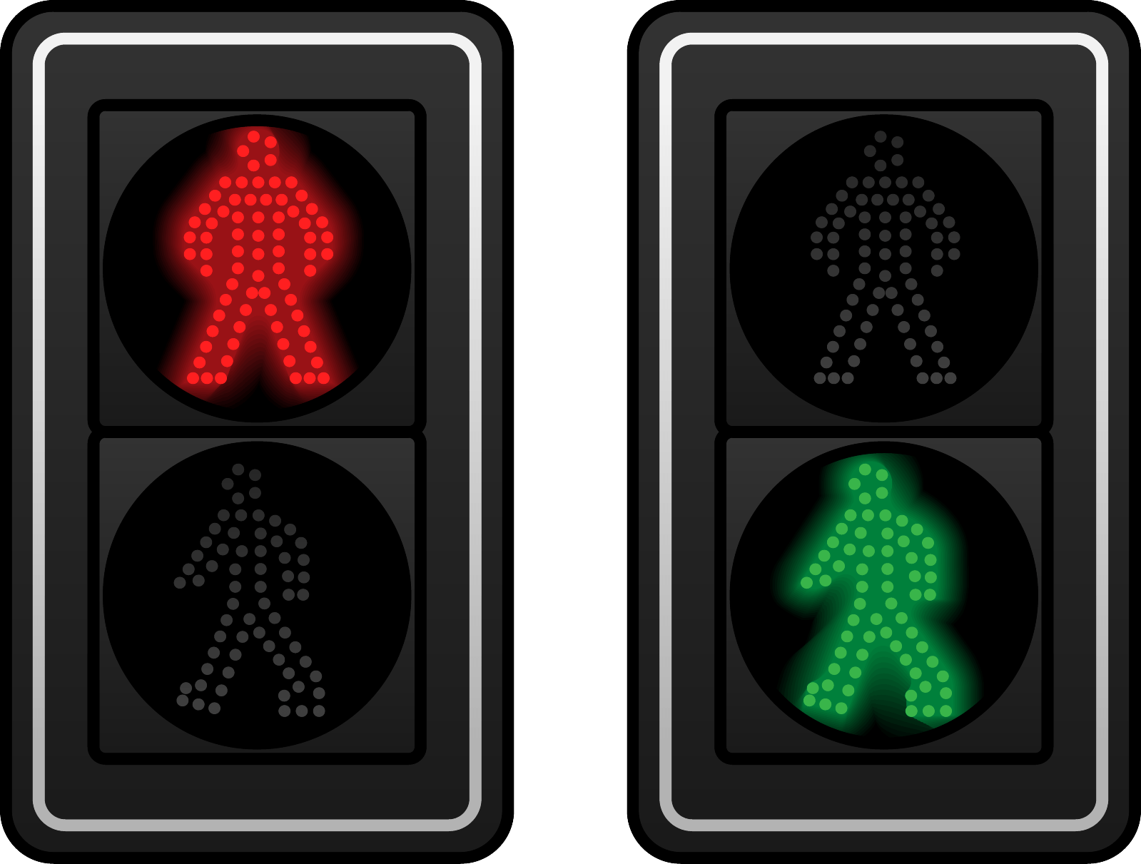 How Much Time Does The Green Man On The Traffic Light