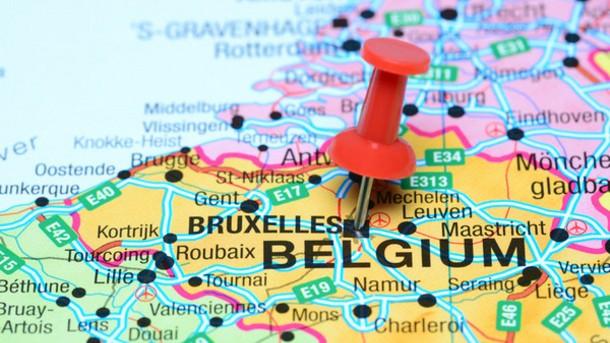 driving around belgium by