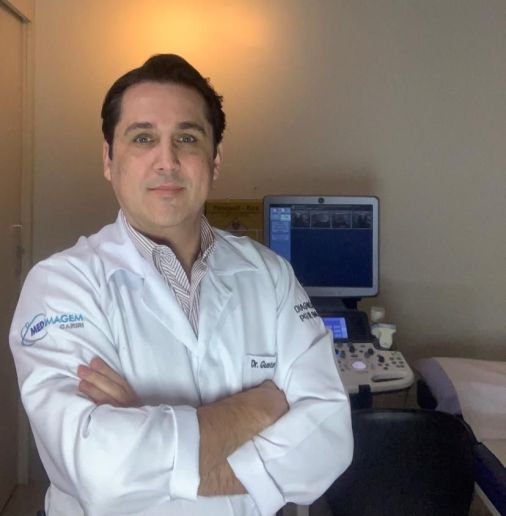 Médico radiologista, Dr Gustavo Saraíva