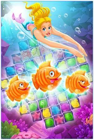 Game Ikan Duyung : duyung, Mermaid, (Putri, Duyung), Terbaik, Android