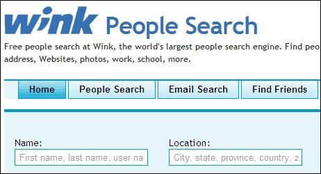Wink People Search
