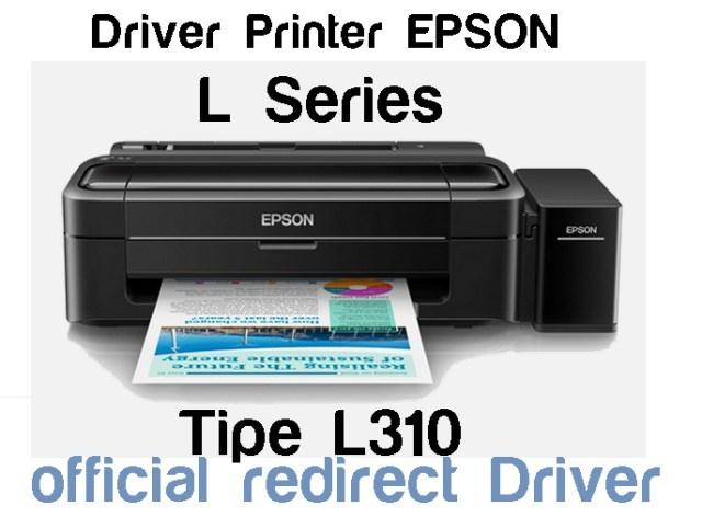 Download Driver Lengkap Printer Epson L310