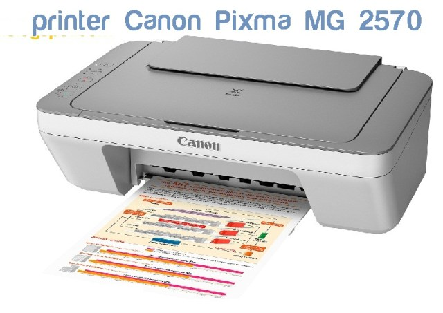 Daftar kode Error printer canon MG2570