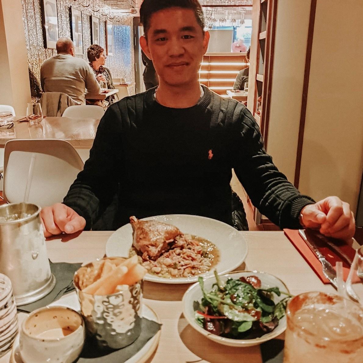 birthday at the gojk restaurant