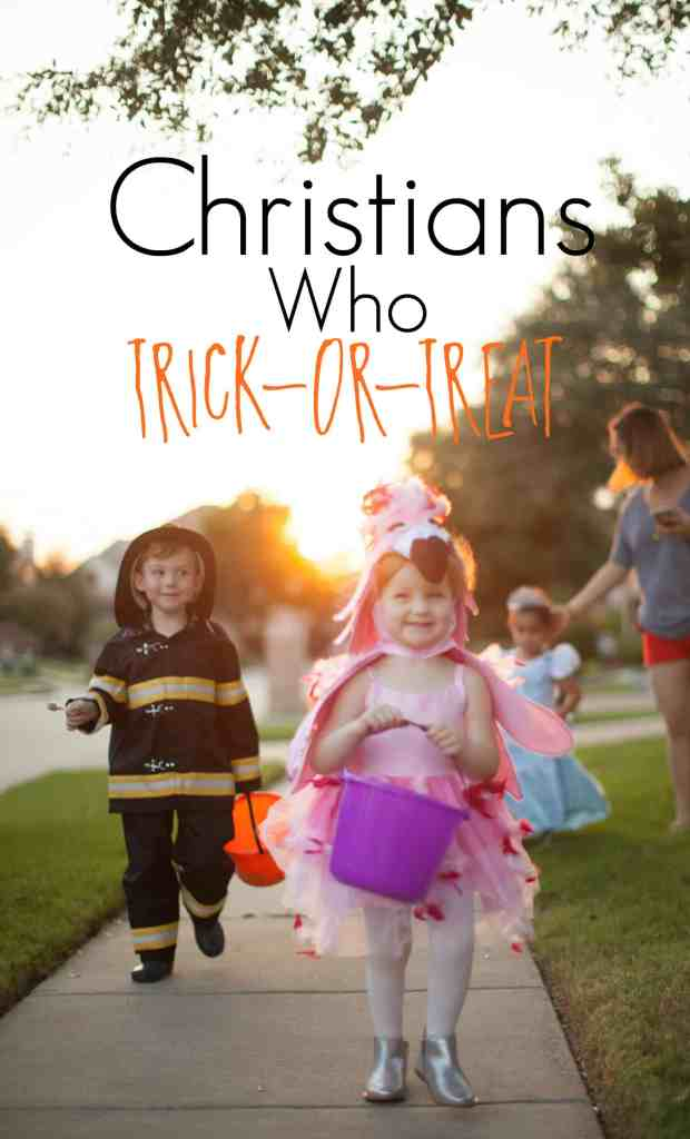 Christians Who Trick-Or-Treat