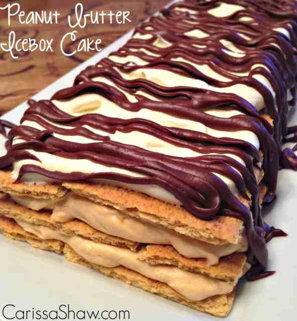 http://www.carissashaw.com/2014/11/graham-cracker-houses-peanut-butter-icebox-cake.html