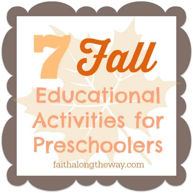 http://faithalongtheway.com/fall-educational-activities/