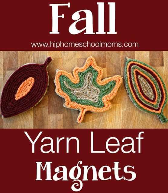 http://www.myjoyfilledlife.com/2014/10/24/fall-yarn-leaf-magnets/