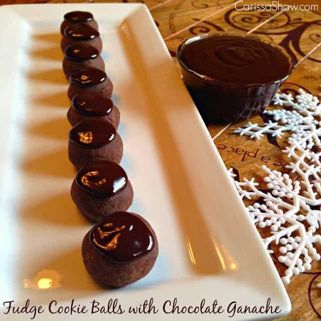 http://www.carissashaw.com/2014/11/fudge-cookie-balls-with-chocolate-ganache.html