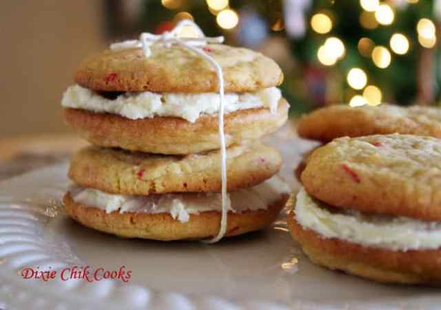http://www.dixiechikcooks.com/peppermint-crunch-whoopie-pies/